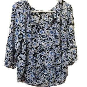 Willi Smith Tops - Willi Smith XL Long Sleeve Paisley Top
